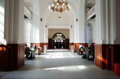 The Royal Library Det Kongelige Bibliotek. COPENHAGEN, DENMARK - SEPTEMBER 5, 2014 : The Royal Library Det Kongelige Bibliotek in Copenhagen, is the national Royalty Free Stock Photo
