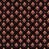 Royal lily  background. Royal lily element in geometric  background Royalty Free Stock Images