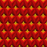 Royal lily pattern Stock Images