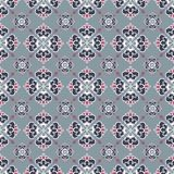 Royal lily. Seamless pattern. Royal lily. Seamless damask pattern for textile, scrapbooking and webdesign Stock Images