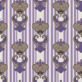 Royal lily. Seamless pattern. royalty free illustration