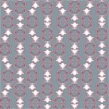 Royal lily. Seamless pattern. Royal lily. Seamless damask pattern for textile, scrapbooking and webdesign Stock Photos