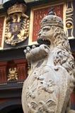 Royal lion Stock Image