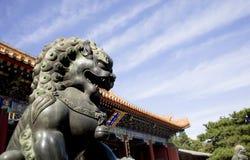 Royal lion statue Stock Image