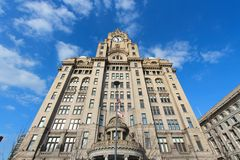 Royal Liver Building Royalty Free Stock Image