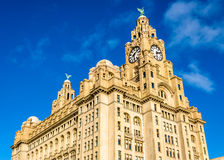 The Royal Liver Building in Liverpool Stock Photos