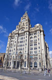 Royal Liver Building in Liverpool Stock Image