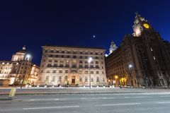 Royal Liver Building in Liverpool. North West England, UK stock image