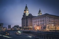 Royal Liver Building in Liverpool. Royal Liver Building in  Liverpool, North West England, UK stock image