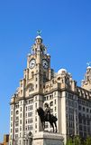 The Royal Liver Building, Liverpool. Stock Images