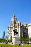 The Royal Liver Building, Liverpool. Stock Photography