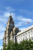 The Royal Liver Building, Liverpool, UK Stock Photo