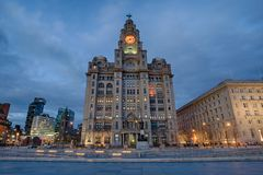Royal Liver Building Royalty Free Stock Images