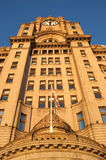 The Royal Liver Building, Pier Head, Liverpool Stock Images