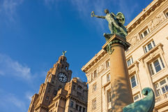 The Royal Liver Building, Pier Head, Liverpool Royalty Free Stock Images