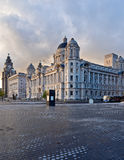 Royal Liver and Cunard building Stock Photos