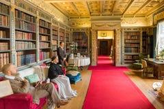 Royal living room scene Royalty Free Stock Photography