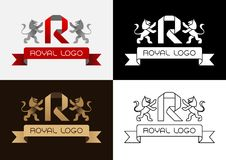 Royal Logo Royalty Free Stock Images