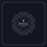 Royal luxury emblem Stock Image