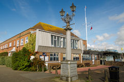 Royal Lymington Yacht Club, Hampshire Royalty Free Stock Image