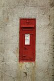 Royal mail box Royalty Free Stock Photography