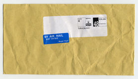 Royal mail letter envelope Royalty Free Stock Photos