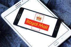 Royal mail postal shipping company logo. Logo of royal mail postal shipping company on samsung mobile on samsung mobile on samsung tablet Royalty Free Stock Images