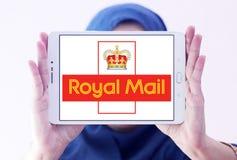 Royal mail postal shipping company logo. Logo of royal mail postal shipping company on samsung tablet holded by arab muslim woman Royalty Free Stock Images