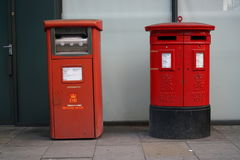 Royal Mail Postbox in London royalty free stock image