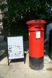 Royal Mail Postbox in Stratford-upon-Avon Royalty Free Stock Images