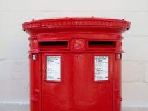 Royal Mail-Postbus in Glasgow royalty-vrije stock foto