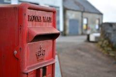 Royal Mail. Red mail box - royal mail Stock Photo