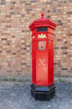 Royal  Mail red post box Stock Photography