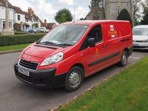 Royal Mail samochód dostawczy w Tanworth w Arden Obraz Stock