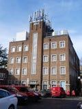 Royal Mail Sortuje biuro, Plebański pas ruchu, Rickmansworth obraz royalty free