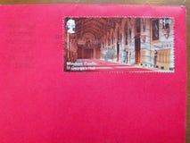 Royal Mail timbra Fotografie Stock Libere da Diritti