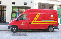 Royal Mail Van Royalty Free Stock Photography