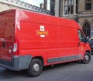 Royal Mail Van Fotografia Stock