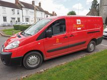 Royal Mail van in Tanworth in Arden Royalty Free Stock Photography