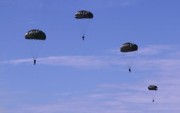 Royal Malaysian Air Forces airborne shows stock photography