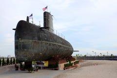 Royal Malaysian Navy submarine Agusta 70 Royalty Free Stock Photo