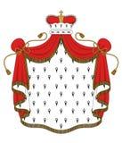 Royal mantle Stock Image