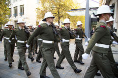 Royal marines Stock Image