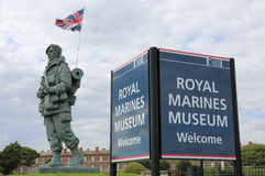 Royal Marines Museum Stock Images