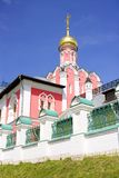 The Royal martyrs Church Pavlovskaya Sloboda the Moscow diocese Royalty Free Stock Image