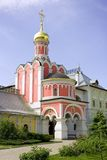 The Royal martyrs Church Pavlovskaya Sloboda the Moscow diocese Stock Image