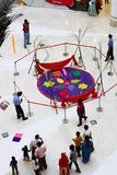 Royal Meenakshi Mall with Pongal Celebrations. Royal Meenakshi Mall at Bangalore, India with pongal decorations Stock Photos