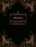 Royal menu Royalty Free Stock Image