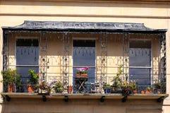Royal Mews balcony, Cheltenham. Royalty Free Stock Images