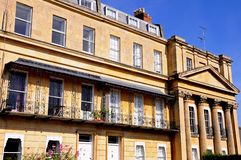 The Royal Mews, Cheltenham. Royalty Free Stock Images